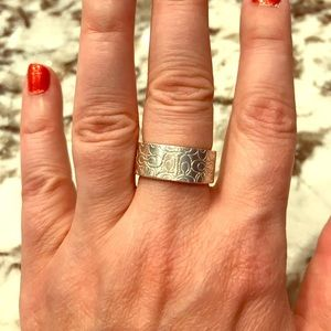 Coach Sterling Silver Ring